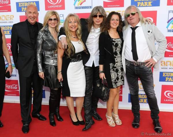 Gäste beim Radio Regenbogen Award 2016 am 22. April 2016 im Europa-Park in Rust