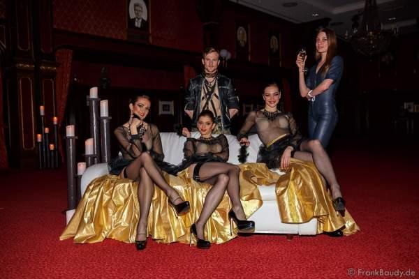 Premiere der neuen Abendshow Night.Beat.Angels am 29. April 2016 im Europa-Park in Rust