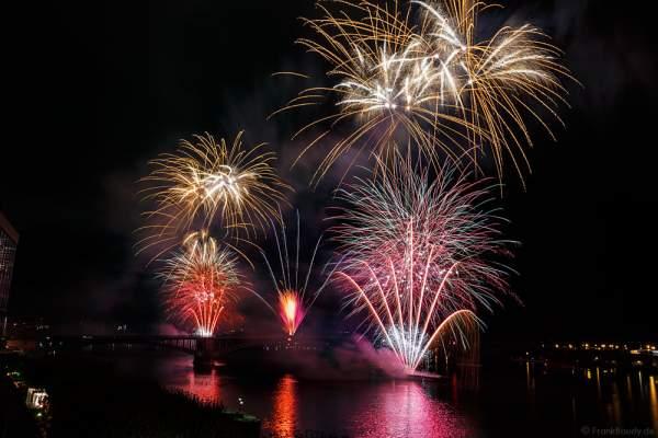 Einzigartiges Feuerwerk bei den Mainzer Sommerlichter 2016