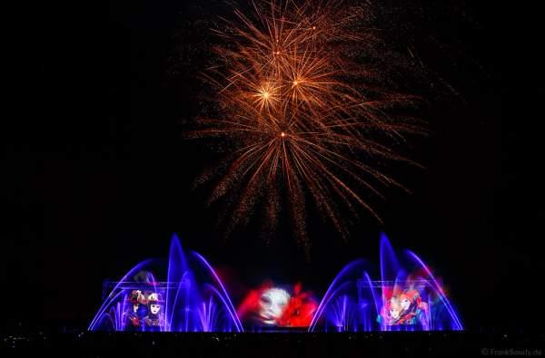 """Große Wassershow mit Feuerwerk bei Art et Lumière 2016 """"Best of"""" aus über 30 Jahren Aquatique Show in Furdenheim"""