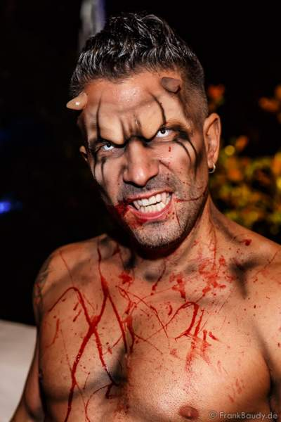 Marc Terenzi bei der 2. Horror Glam Live Night im Europa-Park Rust am 02.10.2016