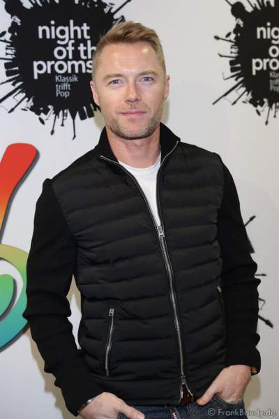 Ronan Keating bei der Pressekonferenz zur Premiere von Night of the Proms 2016 in der SAP Arena Mannheim