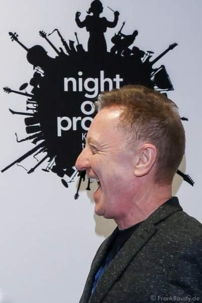 John Miles vergnügt bei der Pressekonferenz zur Premiere von Night of the Proms 2016 in der SAP Arena Mannheim