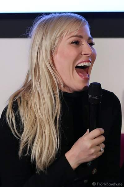 Natasha Bedingfield bei der Pressekonferenz zur Premiere von Night of the Proms 2016 in der SAP Arena Mannheim
