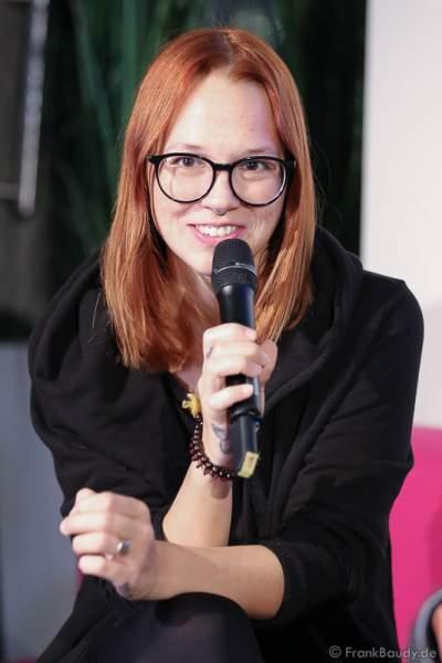 Stefanie Heinzmann bei der Pressekonferenz zur Premiere von Night of the Proms 2016 in der SAP Arena Mannheim