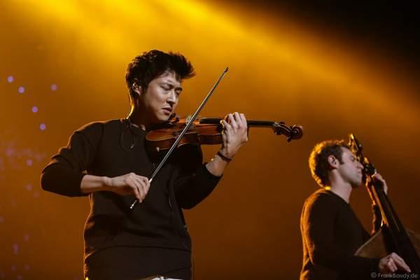 Time For Three mit Nicolas (Nick) Kendall, Charles Yang und Ranaan Meyer bei der Deutschlandpremiere von Night of the Proms 2016 in der SAP Arena Mannheim