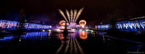 Hit Radio FFH feiert mit Jubiläums-Feuerwerk 70 Jahre Hessen in Wiesbaden