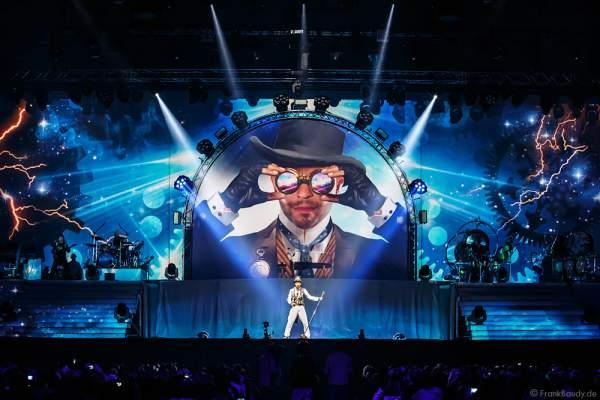 DJ BoBo feierte mit neuer Show MYSTORIAL große Weltpremiere am 13. Januar 2017 in der Europa-Park Arena Rust