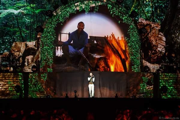 Traumszene von DJ BoBo bei seiner neuen Show MYSTORIAL am 13. Januar 2017 im Europa-Park Rust