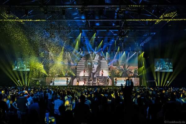 DJ BoBo feierte mit seiner Show MYSTORIAL große Weltpremiere am 13. Januar 2017 in der neuen Multifunktionshalle des Europa-Park Rust