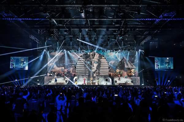 Finale der Show MYSTORIAL von DJ BoBo am 13. Januar 2017 in der neuen Multifunktionshalle des Europa-Park Rust