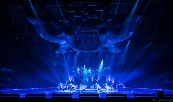 Opening der Show TIME von Holiday on Ice 2016/2017 in der SAP Arena Mannheim