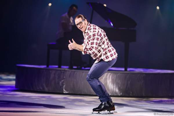 Stanislav Vederski bei der Eisshow TIME von Holiday on Ice in der SAP Arena Mannheim
