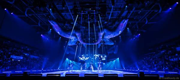 Stadtpremiere der Eisshow TIME von Holiday on Ice 2016/2017 in der SAP Arena Mannheim