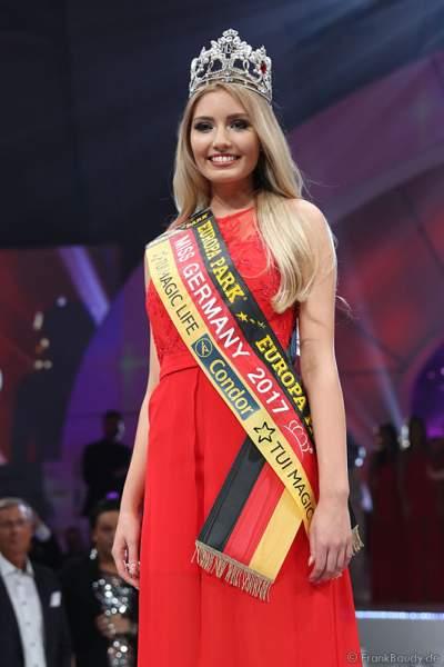 Soraya Kohlmann gewinnt die Wahl zur Miss Germany 2017 im Europa-Park am 18. Februar 2017