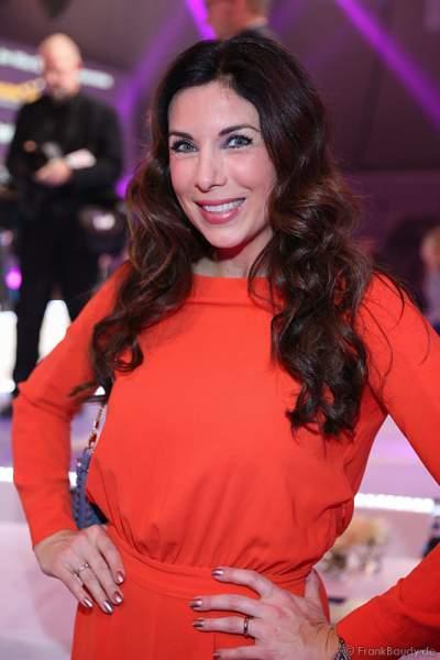 TV-Moderatorin Alexandra Polzin von der VIP-Jury bei der Wahl zur Miss Germany 2017 im Europa-Park am 18. Februar 2017