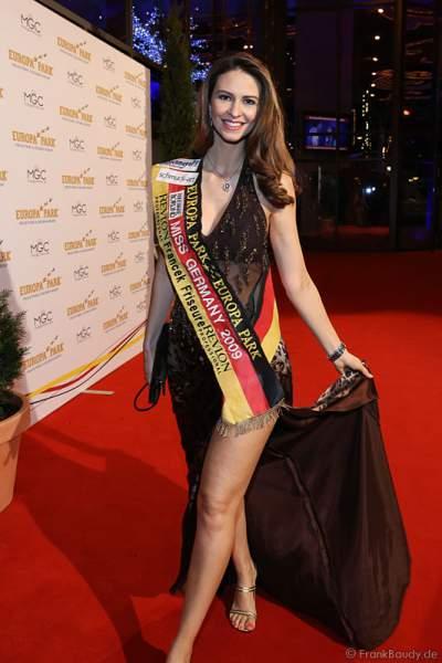 Doris Schmidts, Miss Germany 2009 bei der Wahl zur Miss Germany 2017 im Europa-Park am 18. Februar 2017
