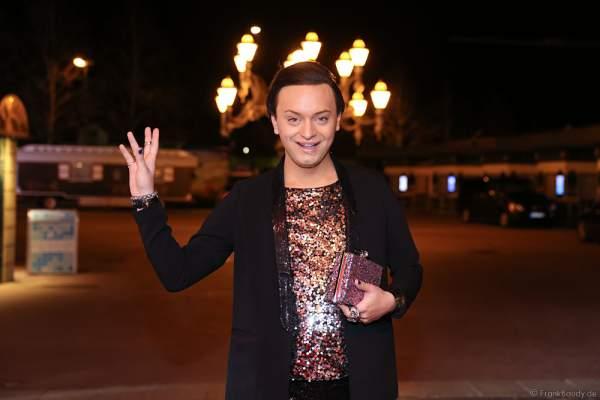 Julian F. M. Stoeckel von der VIP-Jury bei der Wahl zur Miss Germany 2017 im Europa-Park am 18. Februar 2017