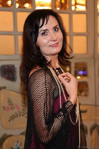 Konzertpianistin Tatjana Worm-Sawosskaja der Wahl zur Miss Germany 2017 im Europa-Park am 18. Februar 2017