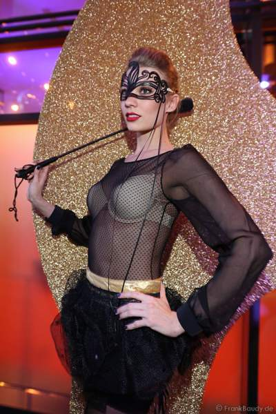 Darsteller von NIGHT.BEAT.ANGEL bei der Wahl zur Miss Germany 2017 im Europa-Park am 18. Februar 2017