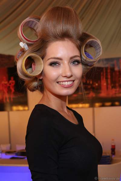 Miss Germany 2017 Soraya Kohlmann (Miss Sachsen 2017) Backstage bei den Vorbereitungen