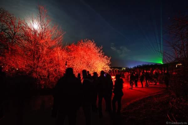 Leuchtende Weinbergnacht 2017 mit Laser in Bad Dürkheim