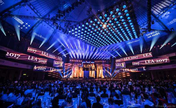 PRG Live Entertainment Award (LEA) 2017 in der Festhalle Frankfurt