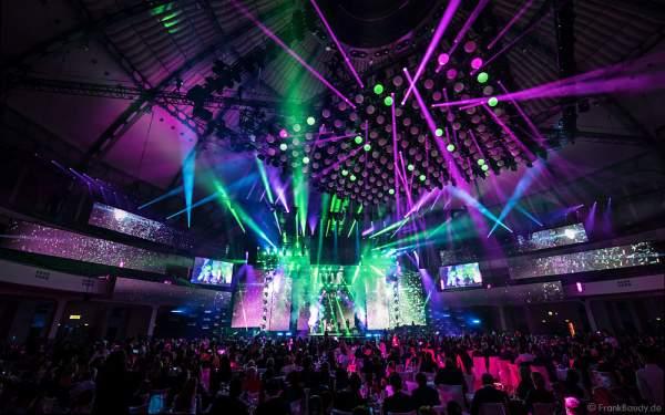 Konzertauftritt von Lina Larissa Strahl beim PRG Live Entertainment Award (LEA) 2017 in der Festhalle in Frankfurt