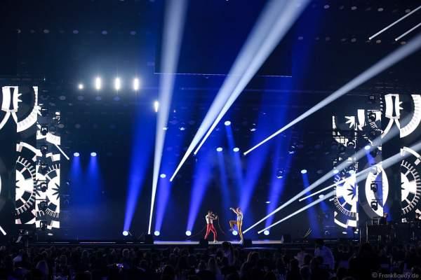 Auftritt Dancefloor Destruction Crew beim PRG Live Entertainment Award (LEA) 2017 in der Festhalle in Frankfurt