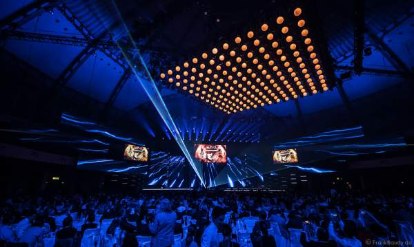 Konzertauftritt Udo Lindenberg beim PRG Live Entertainment Award (LEA) 2017 in der Festhalle in Frankfurt