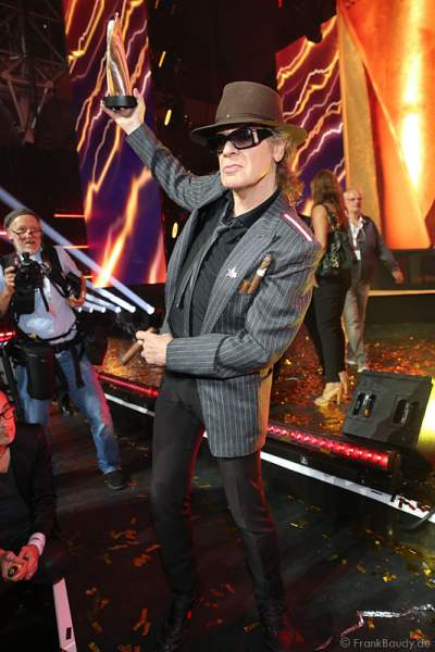 Udo Lindenberg auf der After-Show-Party beim PRG Live Entertainment Award (LEA) 2017 in der Festhalle in Frankfurt