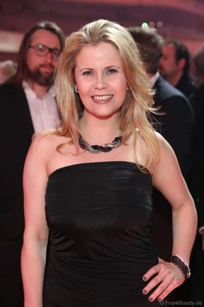 Michaela Schaffrath (geb. Michaela Jänke) aka Gina Wild beim PRG Live Entertainment Award (LEA) 2017 in der Festhalle in Frankfurt