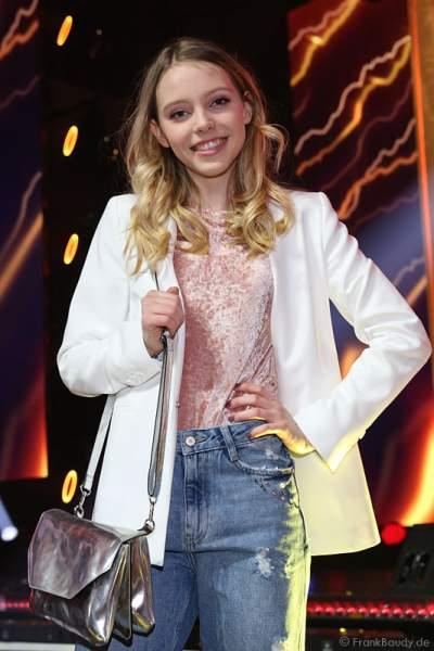 Lina Larissa Strahl auf der After-Show-Party beim PRG Live Entertainment Award (LEA) 2017 in der Festhalle in Frankfurt