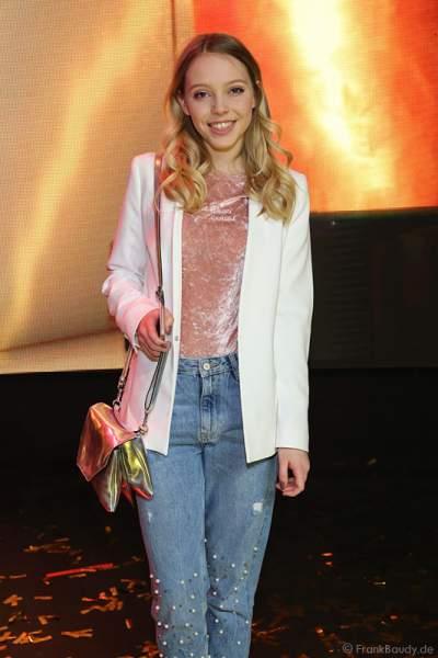 Lina Larissa Strahl beim PRG Live Entertainment Award (LEA) 2017 in der Festhalle in Frankfurt
