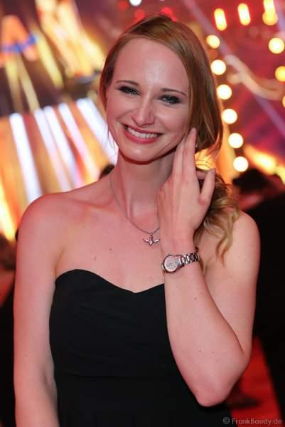 Pia Malolepski, Tochter von ex Flippers Sänger Olaf Malolepski beim PRG Live Entertainment Award (LEA) 2017 in der Festhalle in Frankfurt