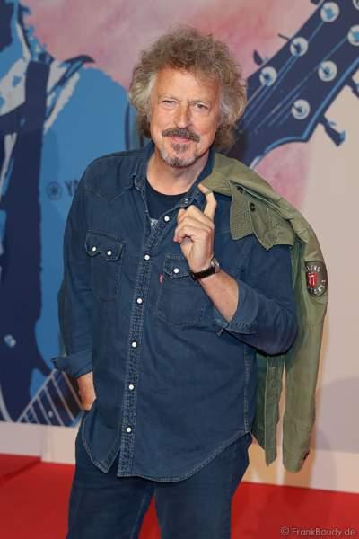 Wolfgang Niedecken auf dem roten Teppich beim PRG Live Entertainment Award (LEA) 2017 in der Frankfurter Festhalle