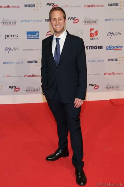 Gäste auf dem roten Teppich beim PRG Live Entertainment Award (LEA) 2017 in der Festhalle Frankfurt