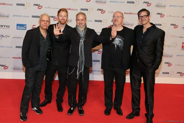 Helmut Zerlett mit Band beim PRG Live Entertainment Award (LEA) 2017 in der Festhalle in Frankfurt