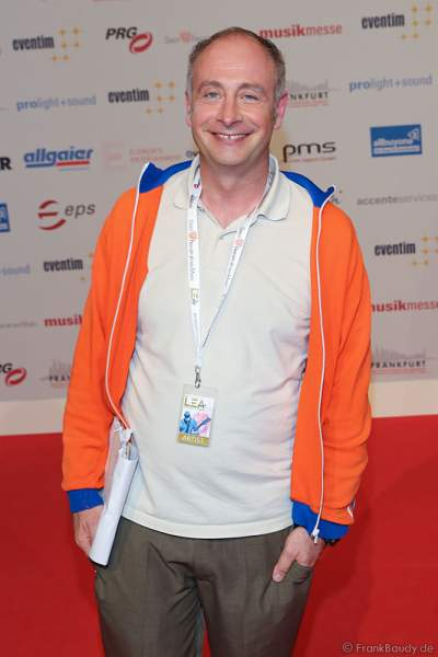 Kabarettist Alfons (Emmanuel Peterfalvi) beim PRG Live Entertainment Award (LEA) 2017 in der Festhalle in Frankfurt