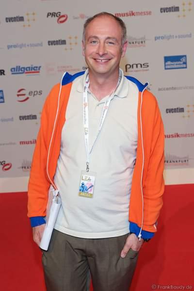 Kabarettist Alfons (Emmanuel Peterfalvi) beim PRG Live Entertainment Award (LEA) 2017 in der Festhalle in Frankfurt