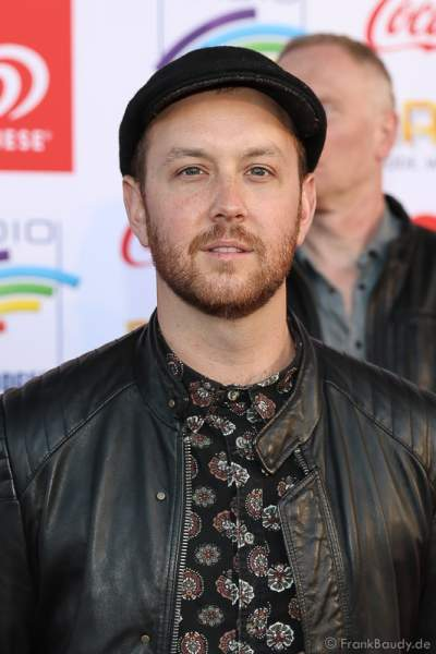Matt Simons beim Radio Regenbogen Award 2017 am 07. April in der Europa-Park Arena in Rust