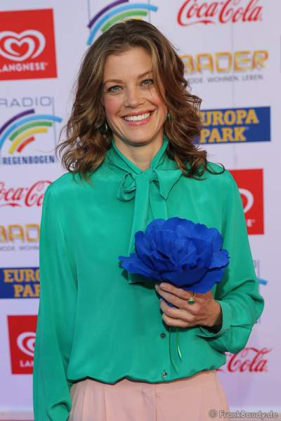 Marie Bäumer beim Radio Regenbogen Award 2017 am 07. April in der Europa-Park Arena in Rust