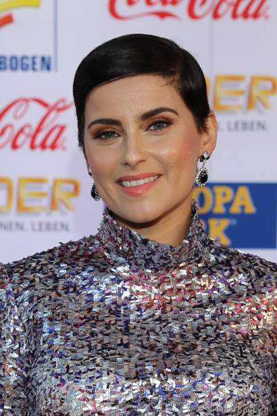 Nelly Furtado beim Radio Regenbogen Award 2017 am 07. April in der Europa-Park Arena in Rust