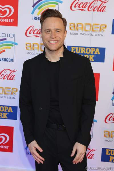 Olly Murs beim Radio Regenbogen Award 2017 am 07. April in der Europa-Park Arena in Rust