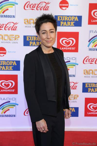 Dunja Hayali beim Radio Regenbogen Award 2017 am 07. April in der Europa-Park Arena in Rust