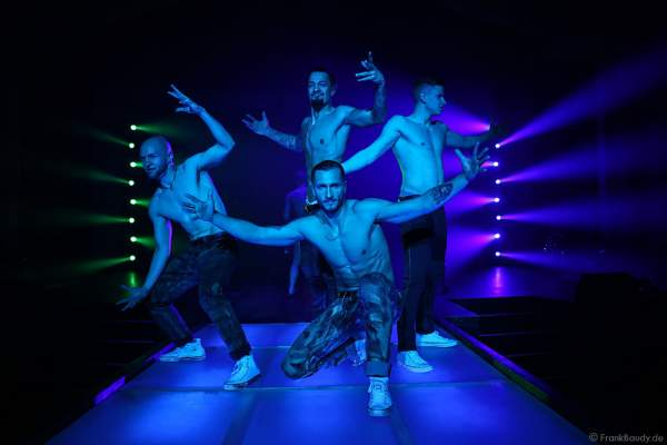 THE.K Streetdancer bei der Party-Show Night.Beat.Angels 2017 im barocken Teatro dell'Arte - Europa-Park