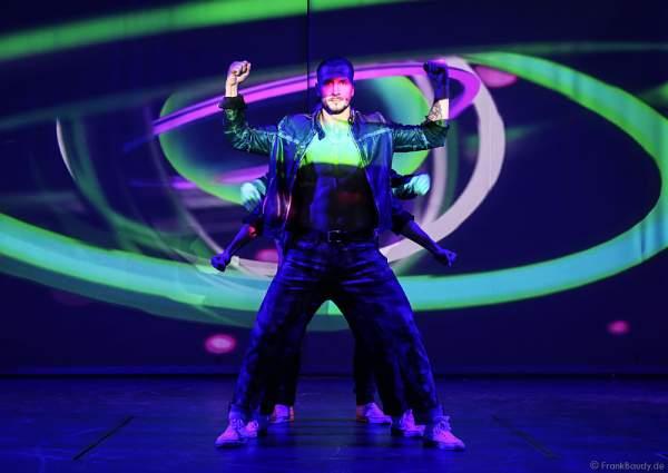 THE.K Streetdancer bei der Party-Show Night.Beat.Angels 2017 im Europa-Park