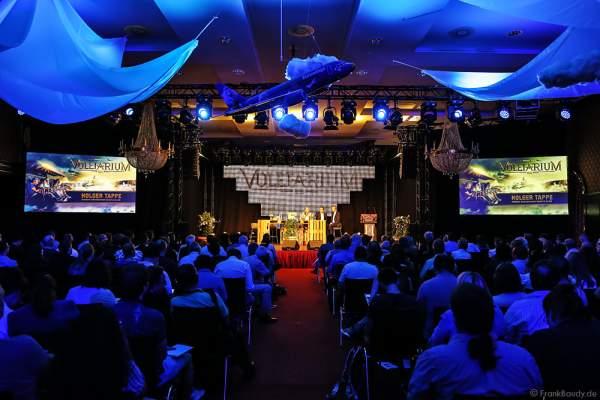 Pressekonferenz bei der Einweihung des Flying-Theater-Voletarium am 1. Juni 2017 im Europa-Park