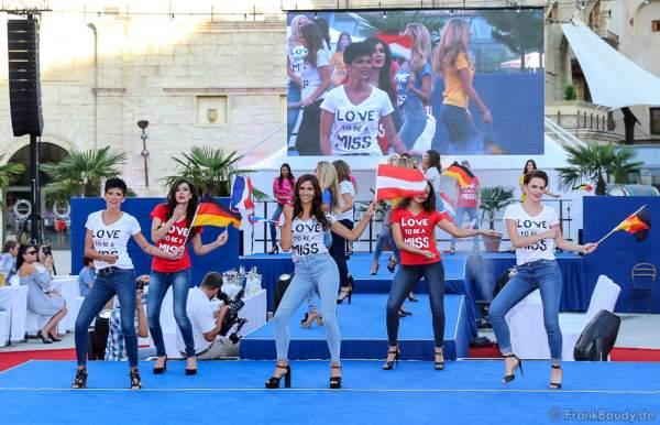 Opening Europäischer Missen TEAM-Cup 2017