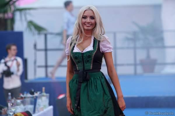 Soraya Kohlmann beim 2. Europäischen Missen TEAM-Cup am 6. Juli 2017 im Europa-Park in Rust